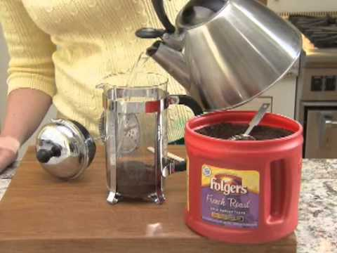 How to Make Coffee in a French Press