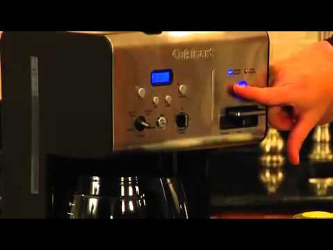 Coffee Plus™ 12 Cup Programmable Coffeemaker Plus Hot Water System Demo (CHW-12)