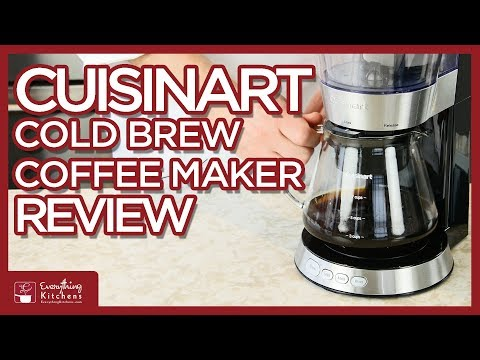 Cuisinart Cold Brew Coffee Maker – Review by Chef Austin