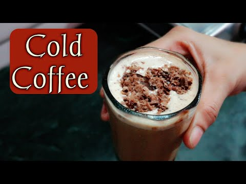 Cold Coffee Recipe In Hindi At Home | How To Make Cold Coffee | Iced Coffee Recipe