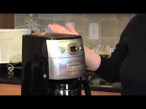 Cuisinart Grind and Brew 12-Cup Automatic Coffeemaker (DGB-625BC) Demo Video