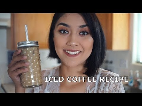 Iced Coffee Recipe! (AT HOME)