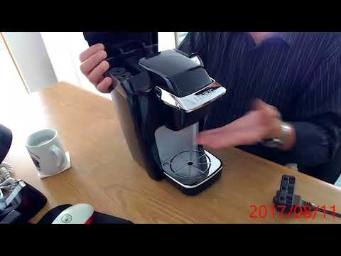 Keurig Single cup Coffee maker demo video