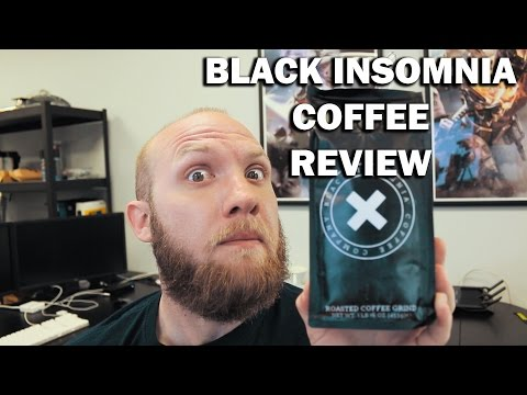 Strongest Cup of Coffee In the World: Black Insomnia Coffee Review