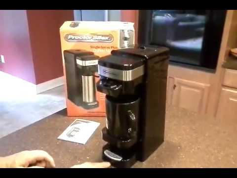 Proctor Silex Single Serve Plus Coffee Maker Review, Excellent Hybrid Coffee Maker