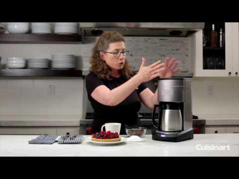 Elite 10 Cup Thermal Coffeemaker Demo (DCC-3750)