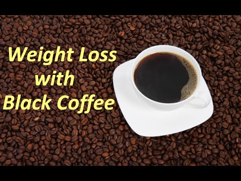 How to make Black Coffee – Black Coffee Recipe for Weight Loss – Coffee without milk and benefits