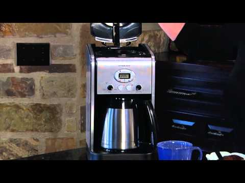 Cuisinart Extreme Brew™ 10-Cup Thermal Programmable Coffeemaker (DCC-2750) Demo Video