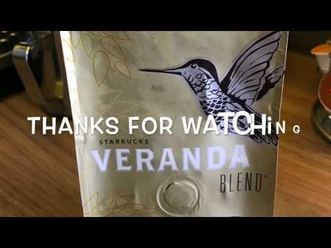 Starbucks Veranda Coffee bean review, My Coffee Journey episode 8