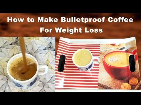 How to Make BulletProof Coffee in Telugu ||Bulletproof coffee recipe telugu||coffee for weight loss