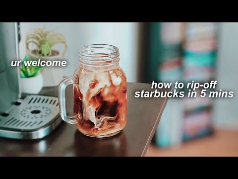 BEST ICED COFFEE RECIPE (MAKE ICED COFFEE AT HOME)