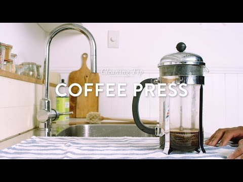 How To: Clean a Coffee Press