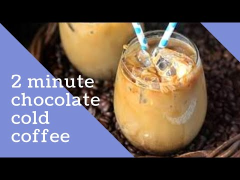 Chocolate cold coffee recipe   Easy to make at home recipe   By lavender blue