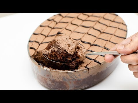 COCOA ALMOND COFFEE CAKE RECIPE l EGGLESS & WITHOUT OVEN