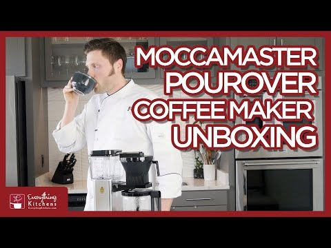 MoccaMaster Pour-Over Coffee Maker Unboxing Review