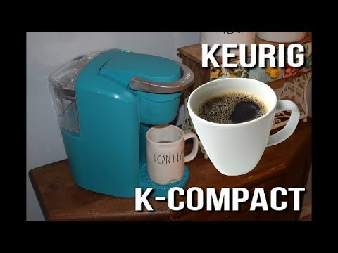 Keurig K-Compact Coffee Maker Review and Unboxing   Does the Keurig K-Compact Coffee Maker work well
