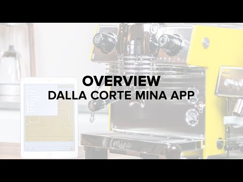 Dalla Corte Mina Espresso Machine App Overview