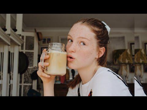 THE BEST ICED COFFEE RECIPE – better than emma chamberlain
