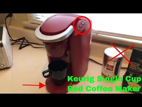 ✅  How To Use Keurig Single Cup Red Coffee Maker Review