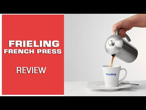 Review: Frieling French Press Coffee Maker (Stainless Steel French Press)