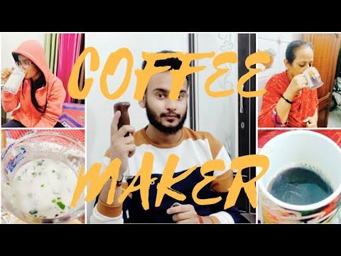 COFFEE MAKER || HONGXIN || HAND BLENDER || Coffee maker Review || Coffee Maker Demo MisterBagga ||