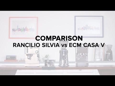 Espresso Machine Comparison: Rancilio Silvia VS ECM Casa V