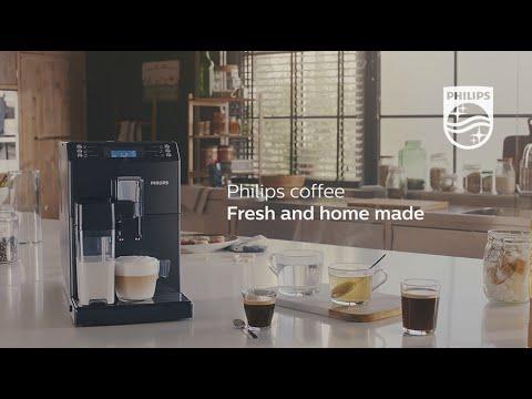 Philips 3100 series Fullautomatic espresso machine with Integrated milk carafe