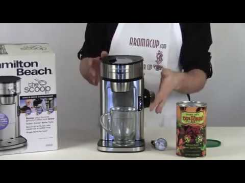 Hamilton Beach 49981A Single Serve Coffee Maker Review