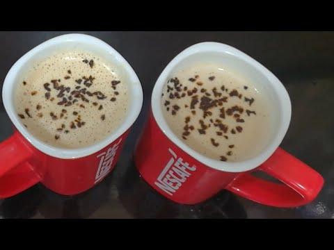 2 Minutes Frothy Creamy Coffee Homemade Recipe  Without Machine Espresso Coffee Recipe in Urdu/Hindi