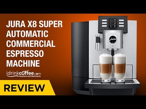 iDrinkCoffee.com Review – Jura X8 Super Automatic Commercial Espresso Machine