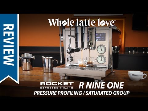 Review Rocket R Nine One Pressure Profiling Saturated Group Espresso Machine