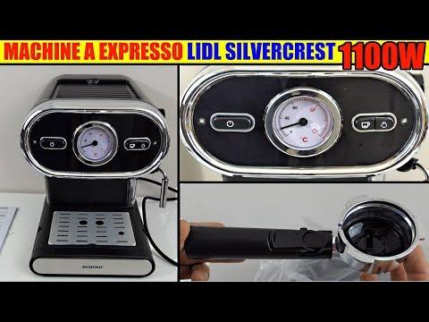 machine a expresso silvercrest lidl café sem 1100 deballage espresso machine espressomaschine
