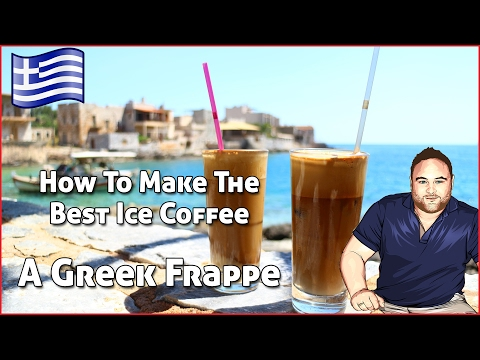 How to Make An Iced Coffee – Greek Frappe Recipe! Is this the best iced coffee?