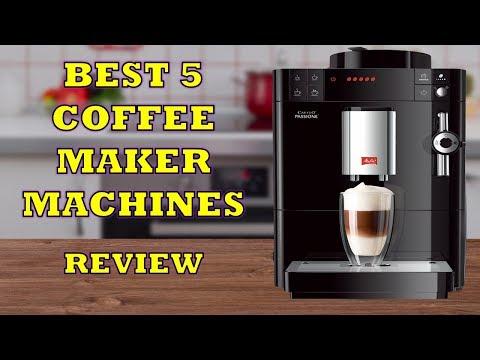 Best 5 Coffee Maker Machines – Review [2019] | Espresso Coffee Machines