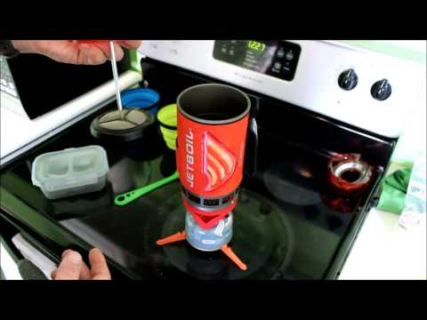 Jetboil flash coffee press cooking review