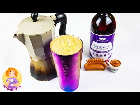 BulletProof Coffee Recipe Without Blender ☕ + Ginger's Keto Fat Burning Coffee 95% FAT BOMB