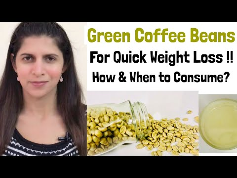 Green coffee Beans for Weight loss | Best time to consume | How to consume | Benefits & Side Effects