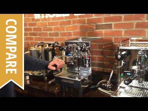 Compare: Expobar Office Espresso Machine Models: Pulser, Control, Lever, Lever Plus