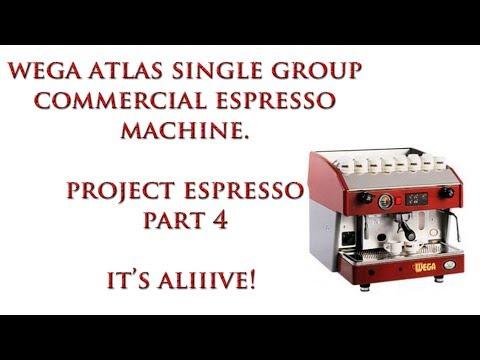 Wega Espresso Machine Repair Clean & Rebuild IT'S ALIIIVE! Part 4