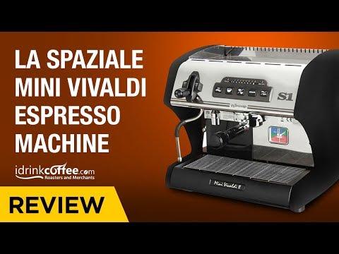 iDrinkCoffee.com Review – La Spaziale Mini Vivaldi Espresso Machine
