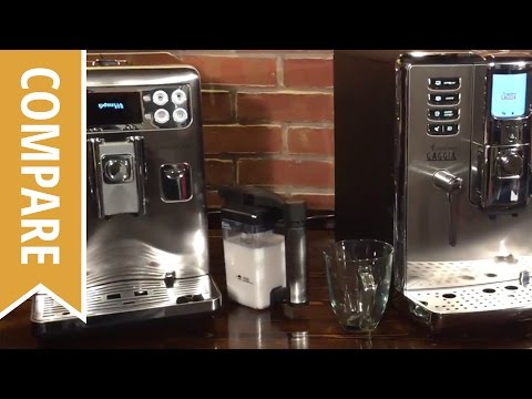 Compare: Saeco Exprelia and Gaggia Accademia Espresso Machines