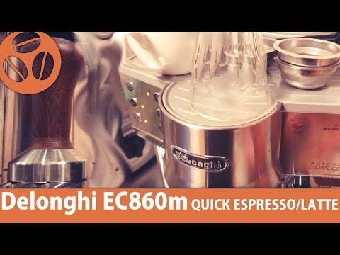 Delonghi EC860M   QUICKEST SEMI AUTO!!  TOKYO BARISTA REVIEW of ESPRESSO MACHINES