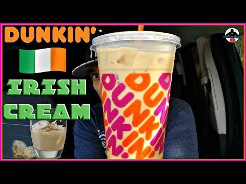 Dunkin'® Irish Cream Iced Coffee Review! 🍩☕