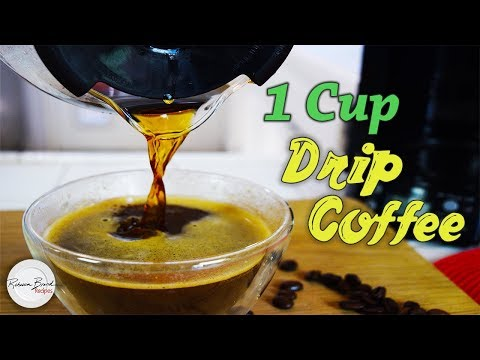 Recipe for One Cup of Drip Coffee   Exact Measurements and Instructions