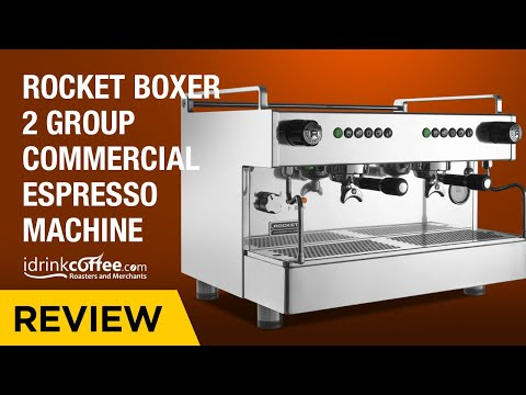 iDrinkCoffee.com Review – Rocket Boxer 2 Group Commercial Espresso Machine