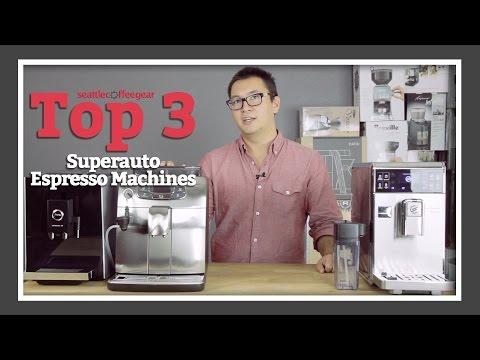 Top 3 Superautomatic Espresso Machines | SCG's Top Picks