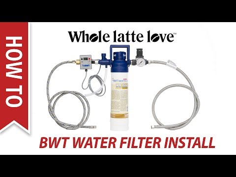 How To Install BWT Water Filter System for Plumbed In Espresso Machines