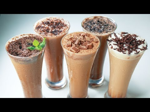 5 Refreshing Cold Coffee | Cold Coffee Recipe | Summer Drinks Recipe | Yummy
