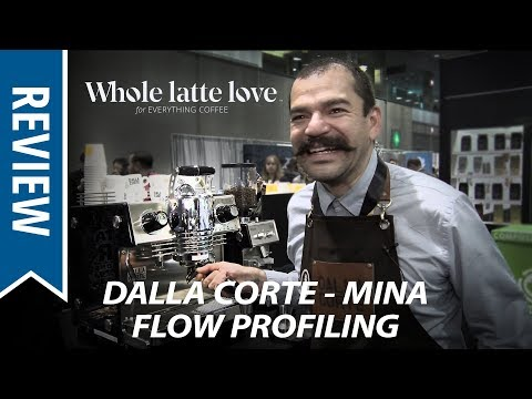 Dalla Corte Mina Flow Profiling Espresso Machine with Fabrizio Sención