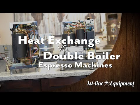 Heat Exchange and Double Boiler Espresso Machines